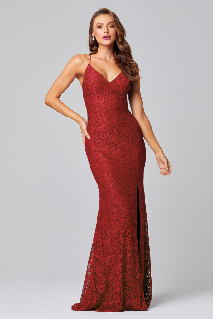 Tania Olsen PO816 long lace formal dress $399