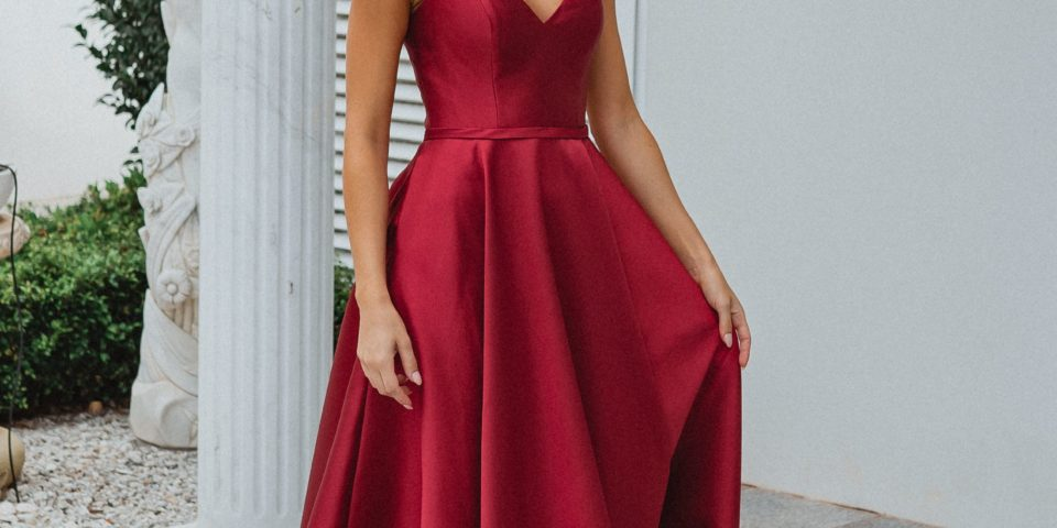 PO895 MEDINA Tania Olsen strapless formal dress $440