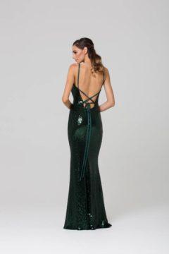 Poseur PO70S sequin long dress $410