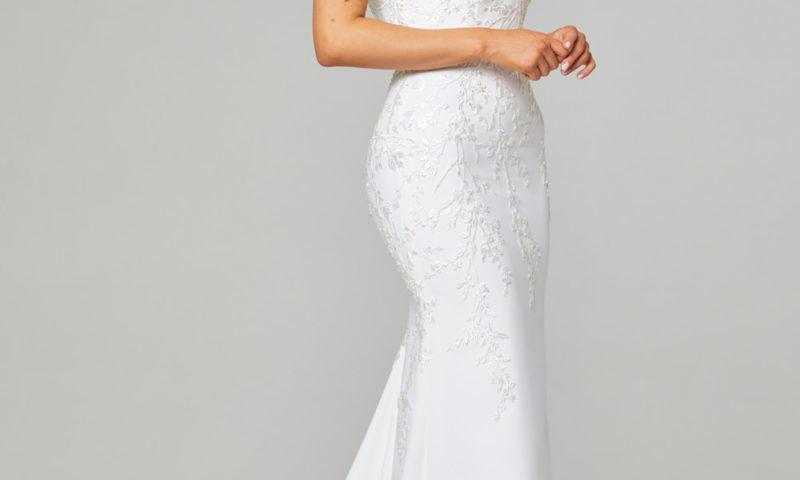 TC314 Tania Olsen Couture Daria Off Shoulder Wedding Dress $799