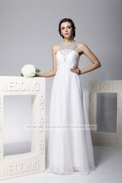 Tinaholy Couture TH12202 Wedding dress / Bridal gown /  Debutante dresses with bejewelled neckline Sizes 10, 14 $379