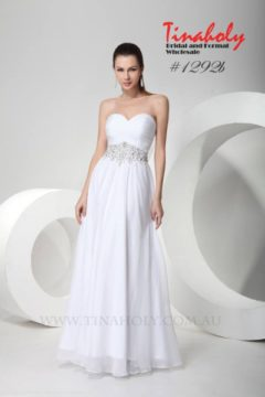 Tinaholy Couture TH1292b strapless long Bridal gown / Wedding dress / Debutante dresses Size 8, 12 $330