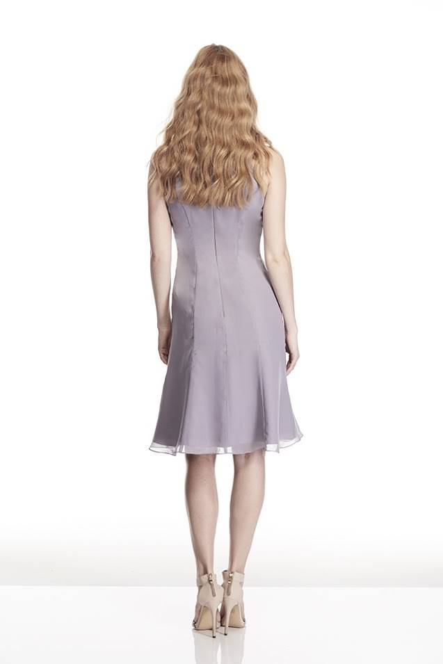 Tinaholy Couture B17106 silver grey cocktail dress $280.00