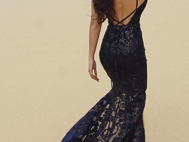 Tinaholy Couture T17118 long dress $450.00