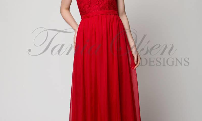 Tania Olsen TO36 long strapless dress $349