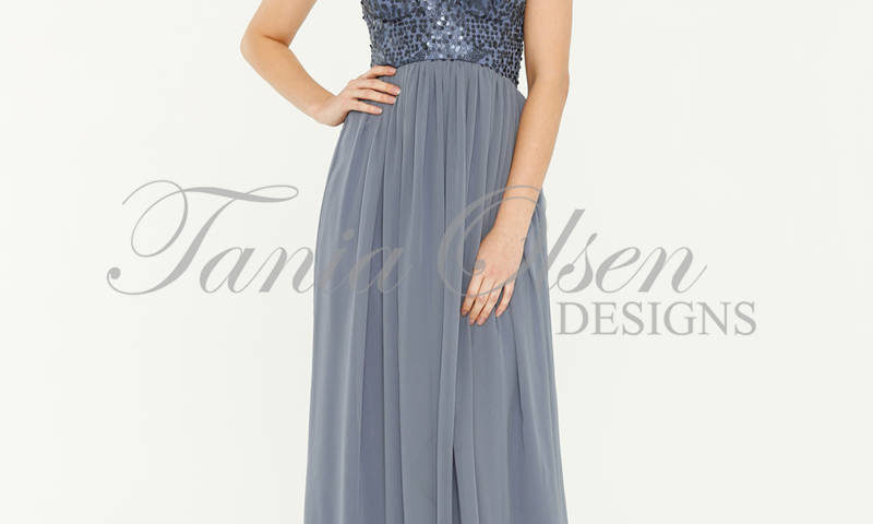 Tania Olsen TO43 strapless long dress with sequin bodice size 10 $299