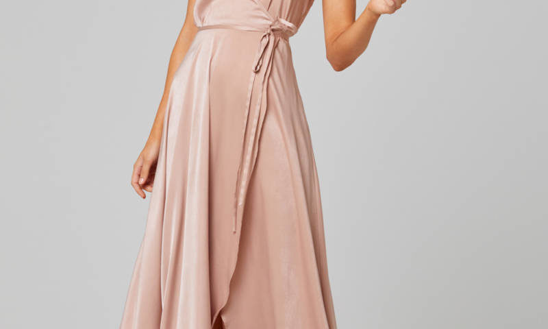 Tania Olsen TO853  long Wrap Dress $230