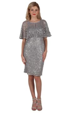 Miss Anne 219366 sequinned cocktail Mother of bride Dress $190