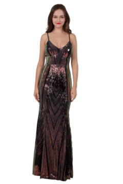 Miss Anne 219473 Ivy Sequined Evening dress Formal Gown $270