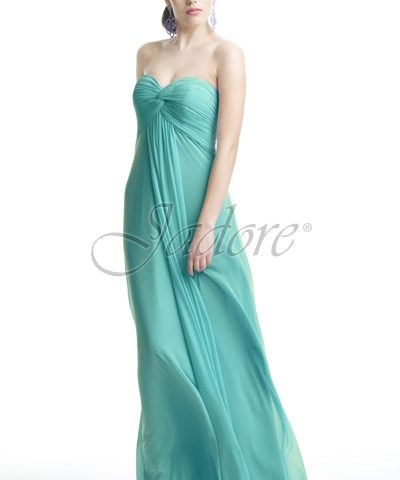 Jadore J5082 STRAPLESS DRESS IN MICRO MESH FABRIC size 8 WAS $239 NOW ONLY $100.00