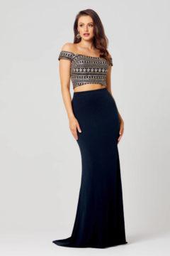 Poseur PO810 Two piece evening Formal dress $450