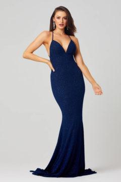 Poseur PO815 Sparkly Long dress $360