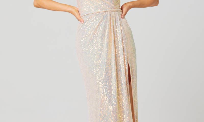 Poseur PO831 long sequin Evening or Formal dress $399