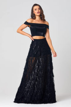 Poseur PO832 long Two piece Evening or Formal dress $499