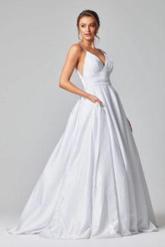 Poseur PO834A White Debutante / Wedding Dress $490.00