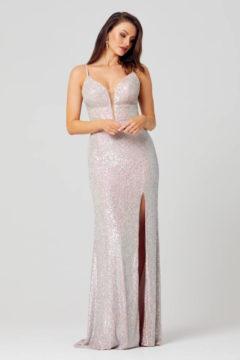 Poseur PO873 long Sequin dress $430