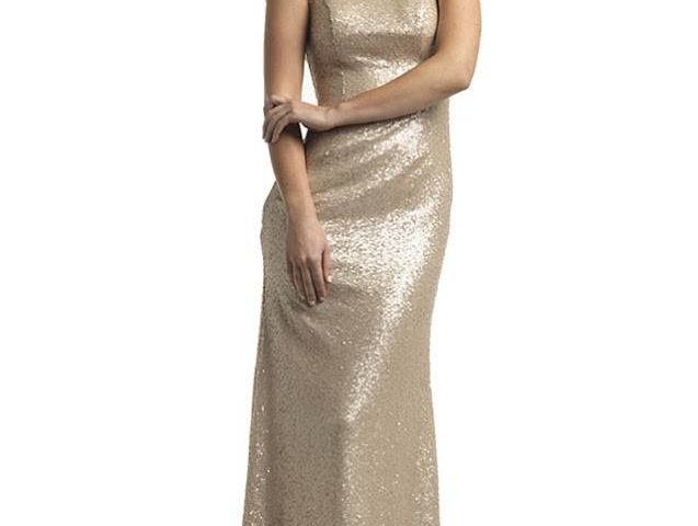 Tinaholy T1601 long sequined Formal dress   $450